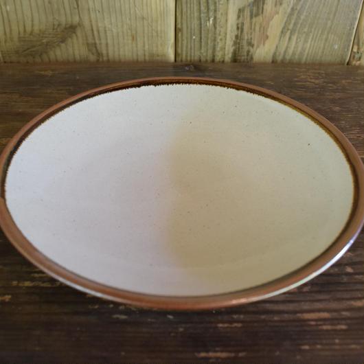 中深皿 7寸 外掛分 石見焼 / 宮内窯 C102
