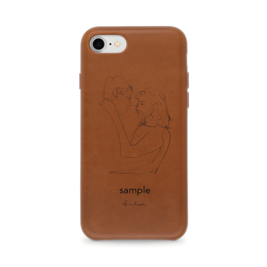 iPhone case[leather]