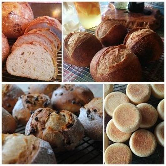 季節の酵母パン おまかせset