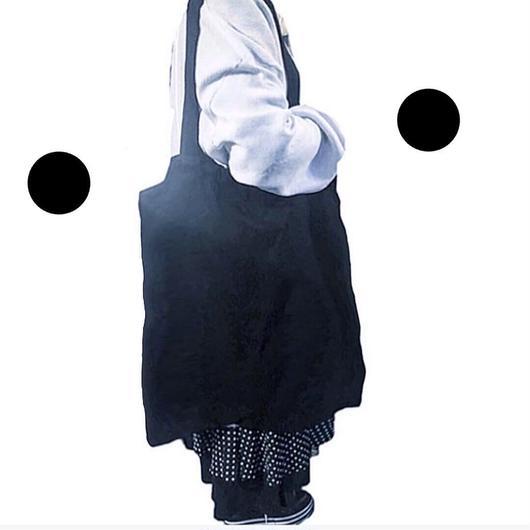 cotobuki ビッグ巾着バッグ 黒
