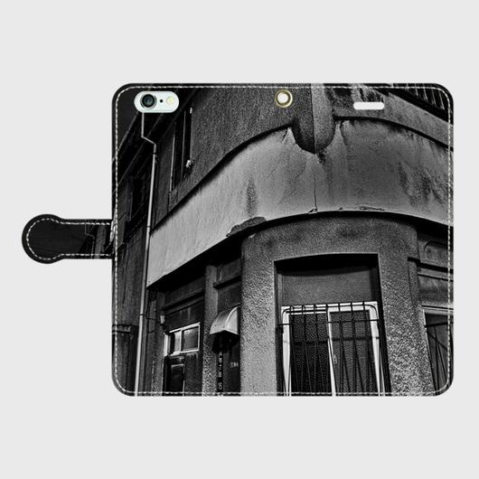 東京都・吉原遊廓 iPhoneケース(手帳型)