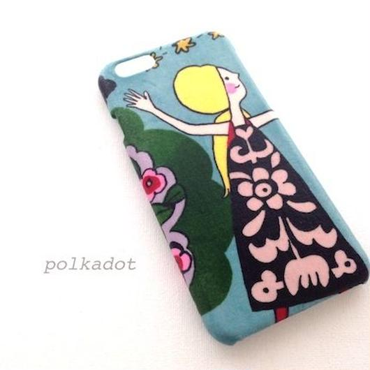 iPhone5/5S/5C/6/6S/6Plus/ ケース Everyday Eden*ワンピースの女の子
