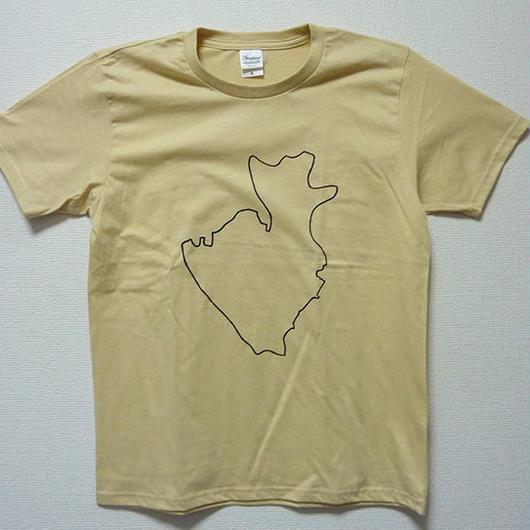 葛飾区Tシャツ(ナチュラル)