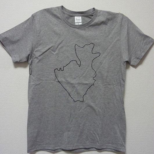 葛飾区Tシャツ(杢グレー)