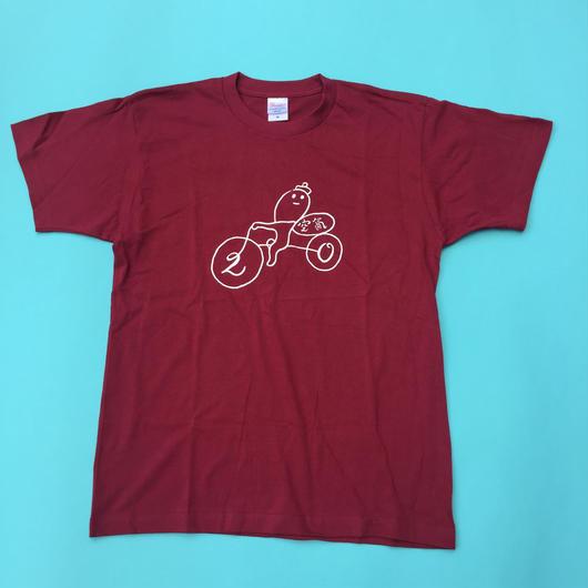 20周年Tシャツ(バーガンディ)