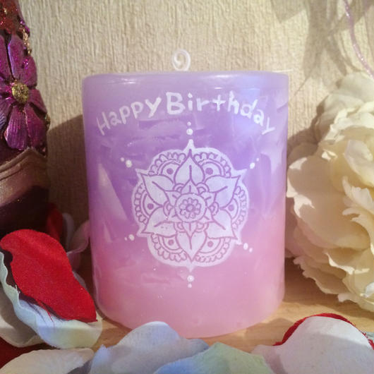 お誕生日プレゼントキャンドル(香りなし)