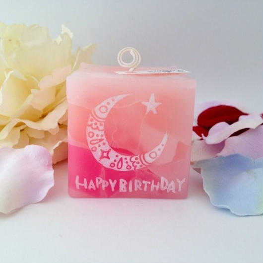 お誕生日プレゼント(バニラの香り)ラッピング付き
