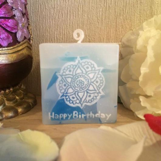 お誕生日プレゼント用アロマキャンドル(WEB限定ティーツリーの香り)ラッピング付き