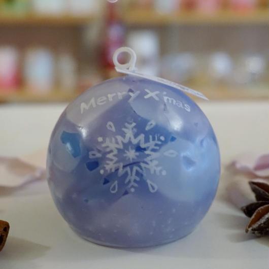 クリスマスプレゼントキャンドル(ムスクの香り)