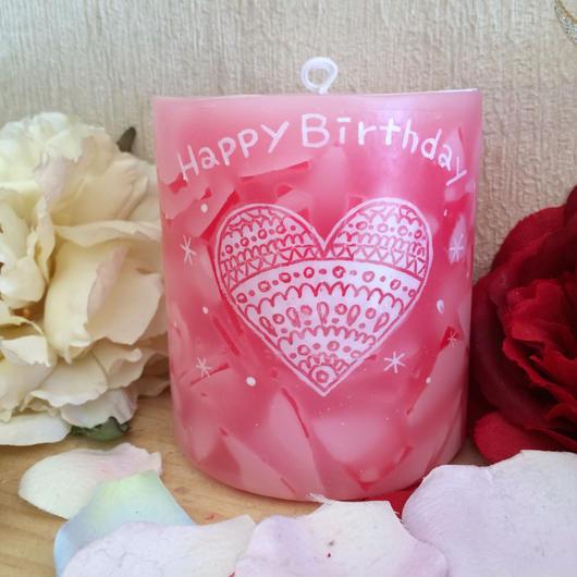 お誕生日プレゼントキャンドル(ローズマリーの香り)