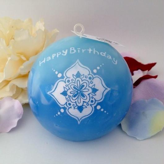お誕生日プレゼントキャンドル(ラッピング付き)