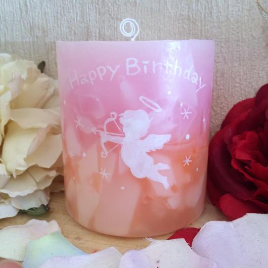お誕生日プレゼントキャンドル(バニラの香り)