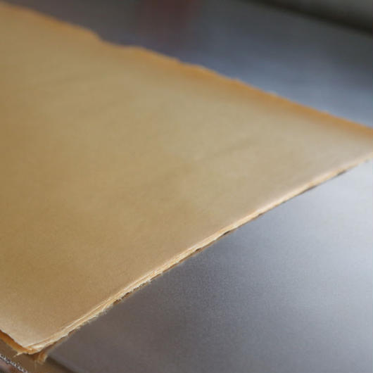アウトレット品 雁皮紙 草木染 No.10 書道用紙 備中和紙