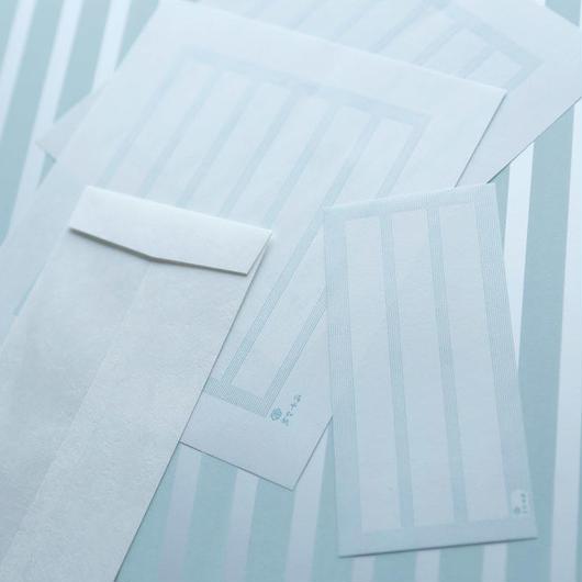 VOLLレターセット青磁色 備中和紙
