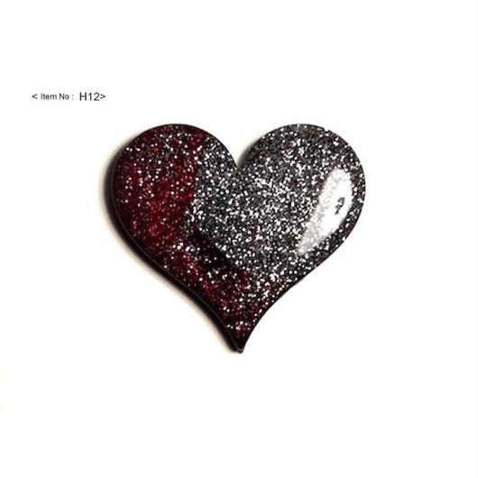 ヘアアクセサリー -HEARTヘアゴム glitter-