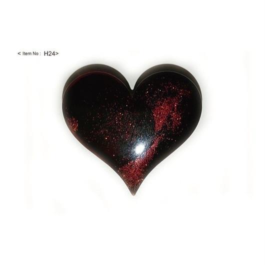 ヘアアクセサリー -HEARTヘアゴム red-