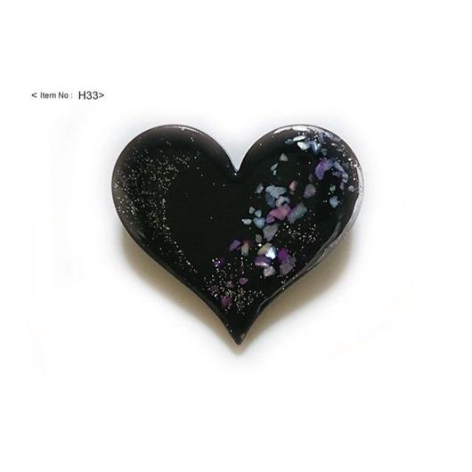 ヘアアクセサリー -HEARTヘアゴム yozakura-