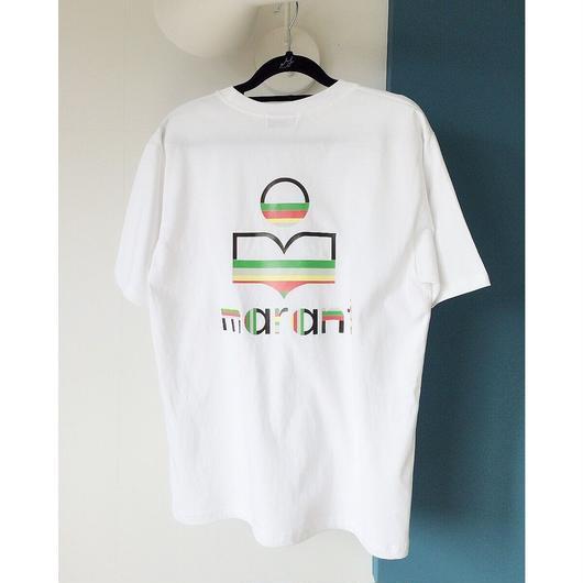 ゆったりバックプリントTシャツ