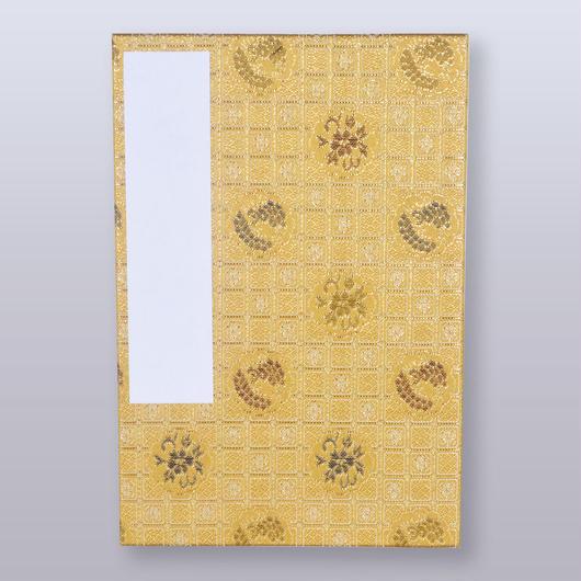 [SY-001022]金茶 格子小紋