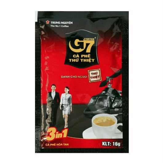ベトナム コーヒー カフェオレ インスタント 【20袋入り】 【ポストイン配送(送料無料)】 TRUNG NGUYEN G7 3in1 instant coffee 【正規輸入品】