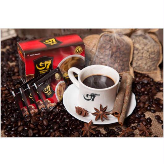 ベトナム コーヒー ブラック インスタント 【15袋入り】 【ポストイン配送(送料無料)】TRUNG NGUYEN  G7 Black instant coffee 【正規輸入品】