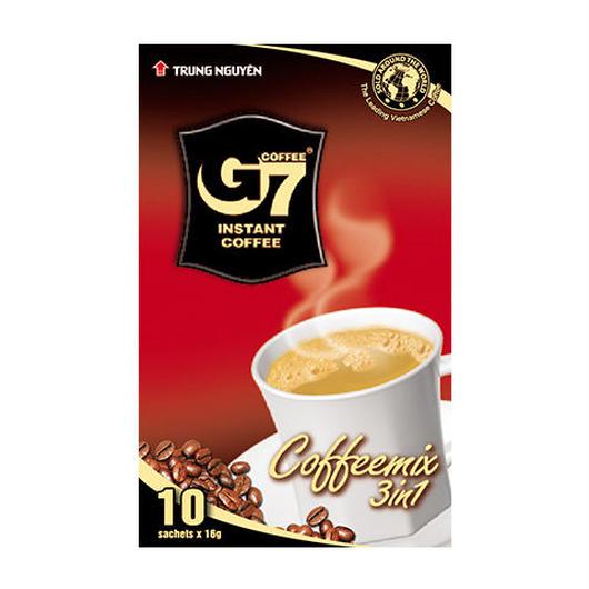 カフェオレ インスタント 【10袋入り/BOX】 TRUNG NGUYEN G7 3in1 instant coffee 【正規輸入品】