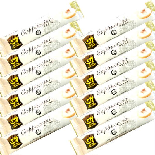 ベトナム コーヒー カプチーノ モカ インスタント 【12本】 【ポストイン配送(送料無料)】 TRUNG NGUYEN G7 Cappuccino Mocha 【正規輸入品】
