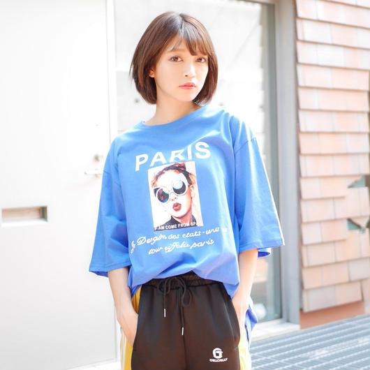 PARISフォトTシャツ