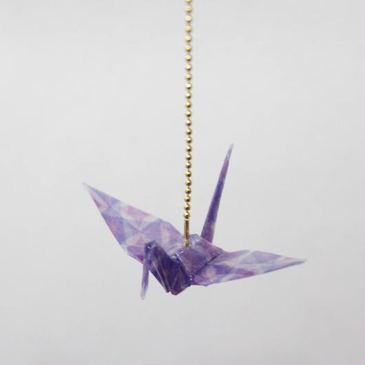 ori-crane (V-kiriko/C28)    ORIZURU-折鶴-