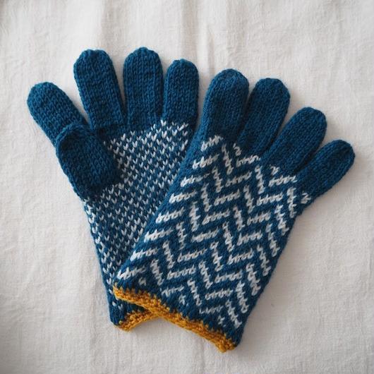 手袋(Green×Yellow) / marshell ※スマートフォン対応【⭐︎季刊誌掲載アイテム⭐︎】