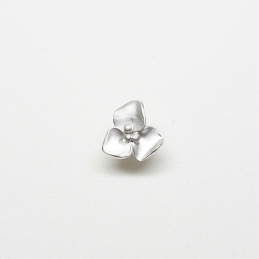 Silver(RH) Single earring (Fiore)