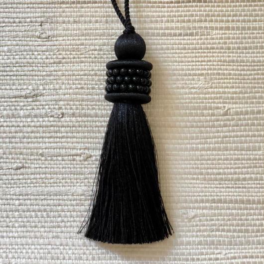 Houles OPALE Key tassel (black)