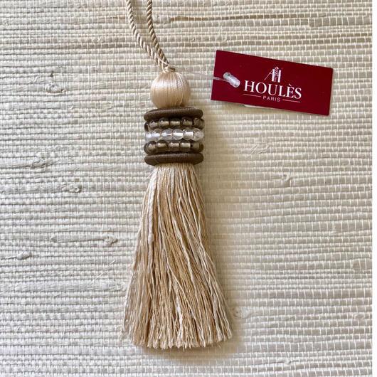 Houles OPALE Key Tassel (off White)
