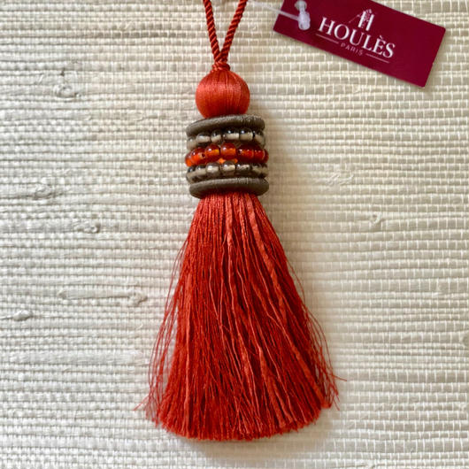 Houles OPALE Key tassel (orange)