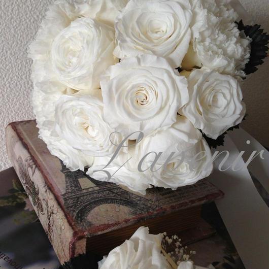 Weddingブーケ~ノーブルホワイト~