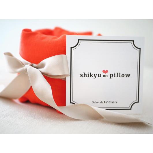 【完売】子宮温pillow  Orange/オレンジ    1001