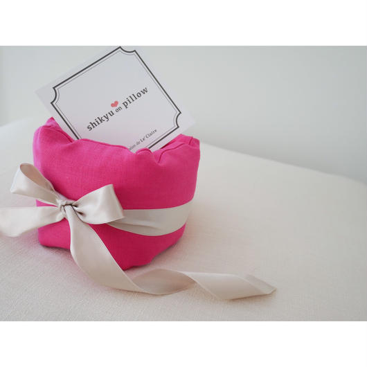 子宮温pillow  Rose red/ローズレッド    1001