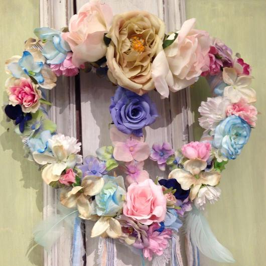 Heart Peace Wreath
