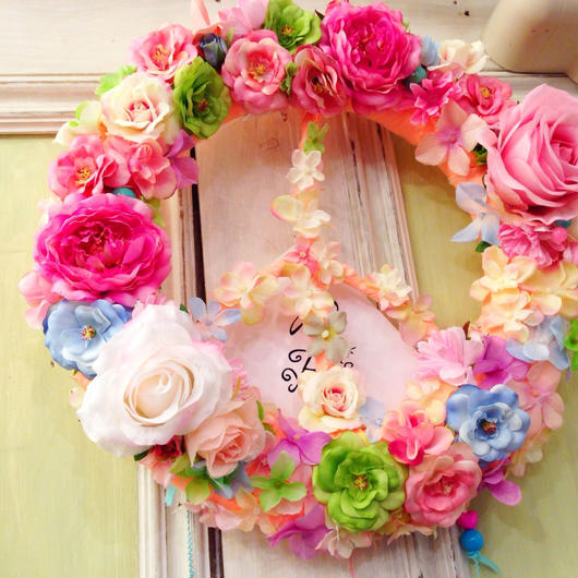 Lucy Rose Peace ♡ リース (L)