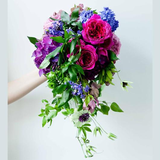 Wedding Bouquet デコラティブブーケ(ブートニア+ヘアーSET)