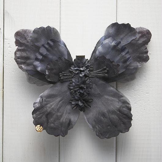 Le Papillon de fleur ヘアーアクセサリー(L/BK)BOX付き