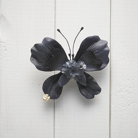 Le Papillon de fleur ヘアーアクセサリー(S/BK)BOX付き