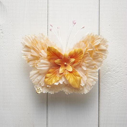 Le Papillon de fleur ヘアーアクセサリー(M/OR)BOX付き