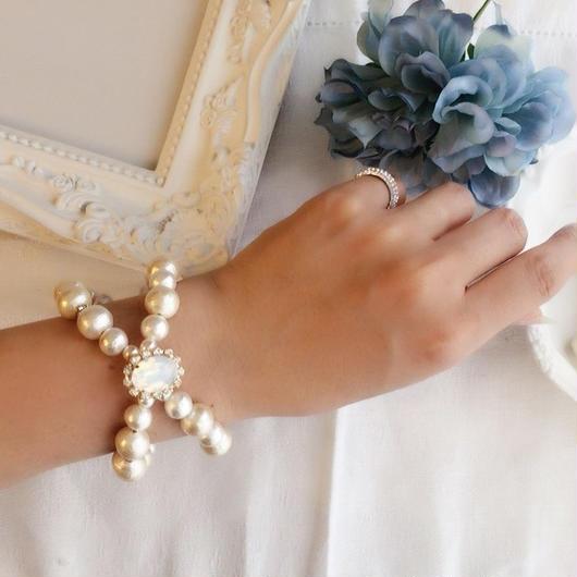 ribbon line bracelet