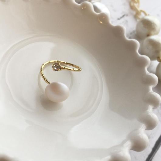 swarovski  ring/k16gf