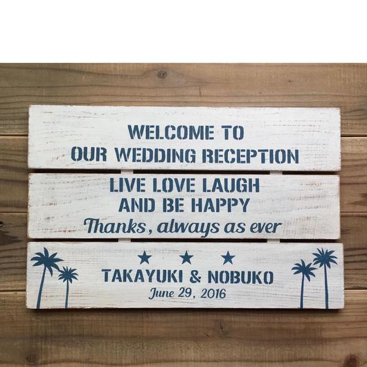 Welcome Board(セミオーダー)