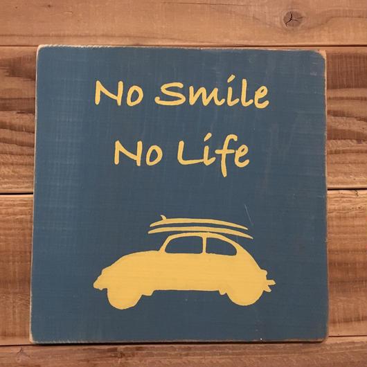wood board A 〜no smile no life〜