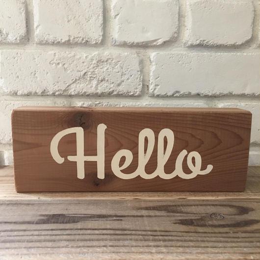 woodboard G〜Hello〜