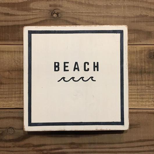 wood board B〜BEACH 〜