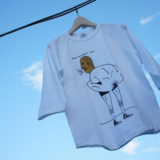 Ass Boy  3/4 shirts    / ケツBOY ラグラン 七分袖